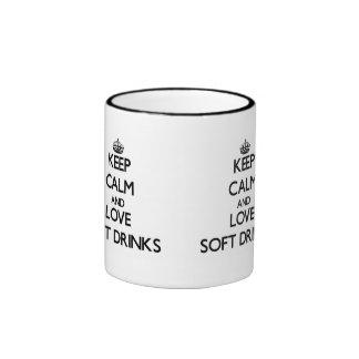 Keep calm and love Soft Drinks Coffee Mug