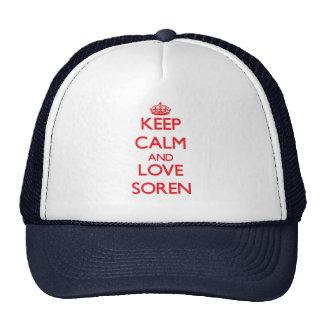 Keep Calm and Love Soren Hat