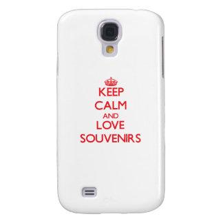 Keep calm and love Souvenirs HTC Vivid Cases