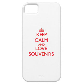 Keep calm and love Souvenirs iPhone 5 Cases