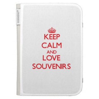 Keep calm and love Souvenirs Kindle 3G Cases