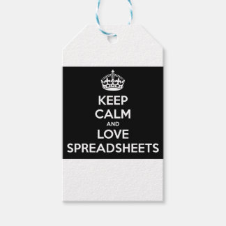 KEEP CALM AND LOVE SPREADSHEETS