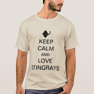 Keep calm and love stingrays T-Shirt