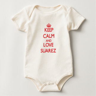 Keep calm and love Suarez Baby Bodysuit