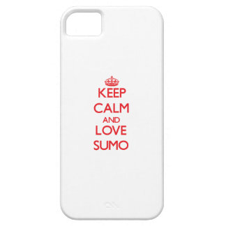 Keep calm and love Sumo Case For The iPhone 5