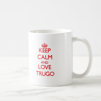 Keep calm and love Trugo Basic White Mug