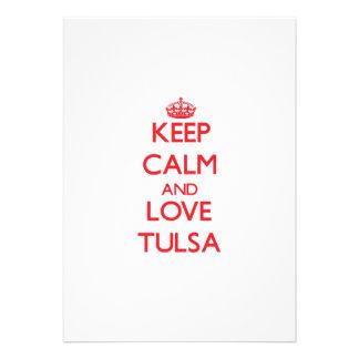 Keep Calm and Love Tulsa Announcement
