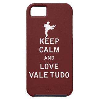 Keep Calm and Love Vale Tudo iPhone 5 Cases