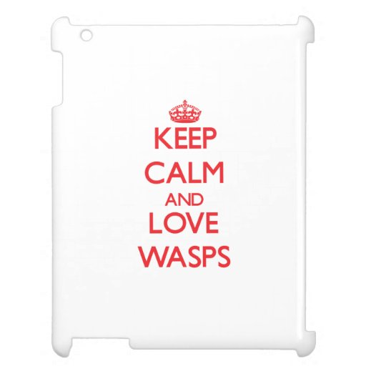 Keep calm and love Wasps Cover For The iPad 2 3 4