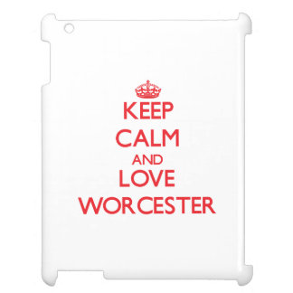 Keep Calm and Love Worcester Cover For The iPad