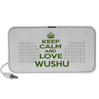 Keep Calm And Love Wushu Laptop Speakers