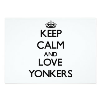 Keep Calm and love Yonkers Invites