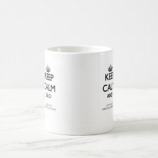 Keep Calm and Love your Aerospace Engineer Basic White Mug