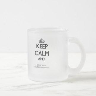 Keep Calm and Love your Aerospace Engineer Coffee Mug