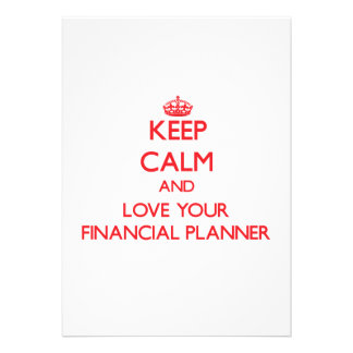 Keep Calm and Love your Financial Planner Announcement