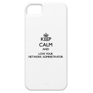 Keep Calm and Love your Network Administrator iPhone 5 Case