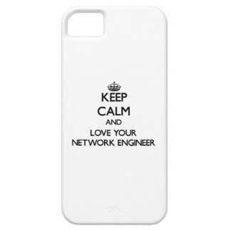 Keep Calm and Love your Network Engineer iPhone 5 Cases