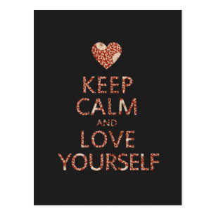 Keep Calm And Love Yourself Gifts Gift Ideas Zazzle Uk