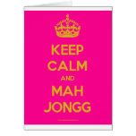 Keep-Calm-And-Mah-Jongg.pdf Greeting Card