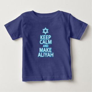 Keep Calm And Make Aliyah Baby T-Shirt