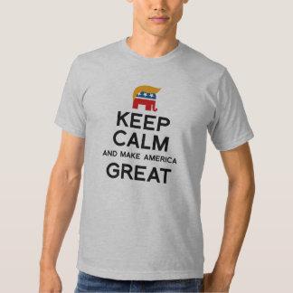 Keep Calm and Make America Great - .png Tee Shirts