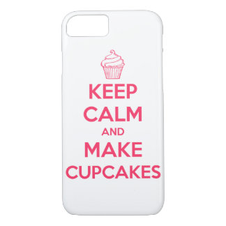Keep calm and make cupcakes iPhone 8/7 case