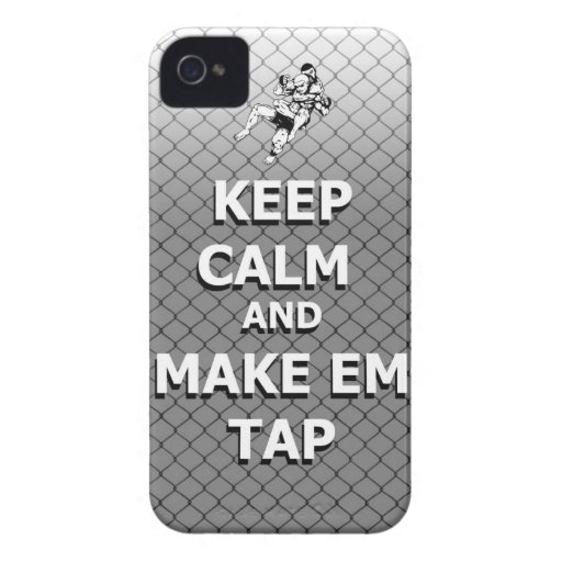 keep calm and make em tap iPhone 4 Case-Mate cases
