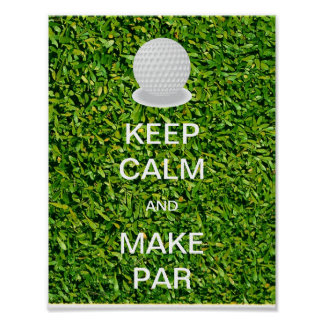 Keep Calm and Make Par Poster