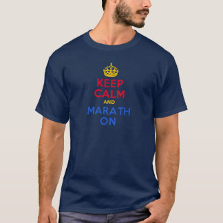KEEP CALM and MARATH ON T-Shirt