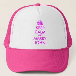 Keep Calm and Marry John Hat