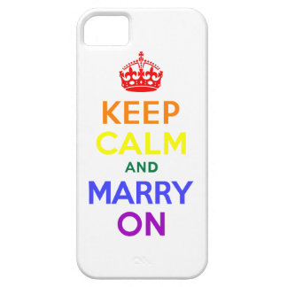 Keep Calm and Marry On iPhone 5 Case