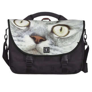 Keep Calm and Meow On Commuter Bags
