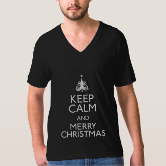 Keep Calm and Merry Christmas T-Shirt