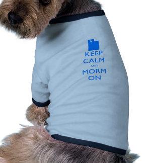 Keep Calm and Mormon Doggie Tee