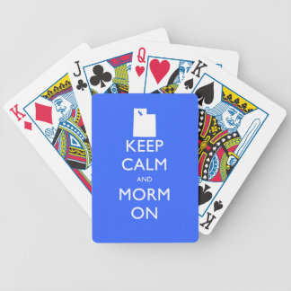 Keep Calm and Mormon Playing Cards