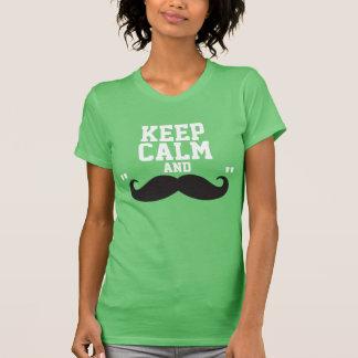 "Keep Calm and ""Moustache"" Shirt"