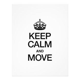 KEEP CALM AND MOVE CUSTOM FLYER