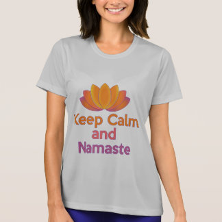 Keep Calm and Namaste - Zen, Yoga, Relax T-Shirt
