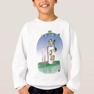 keep calm and never show fear, tony fernandes sweatshirt
