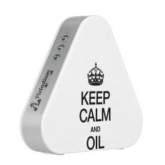 KEEP CALM AND OIL SPEAKER