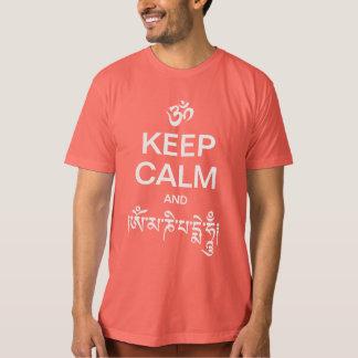 Keep Calm and Om Mani Padme Hum T-shirts