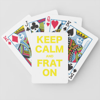 Keep Calm and On Deck Of Cards