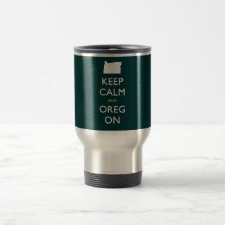 Keep Calm and Oregon Mugs