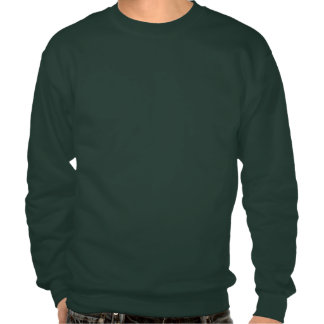 Keep Calm and Paddy on Derby Hat Pullover Sweatshirts