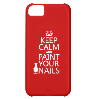 Keep Calm and Paint Your Nails (all colors) iPhone 5C Case