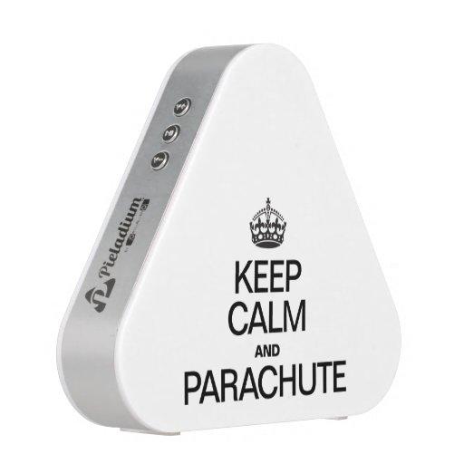 KEEP CALM AND PARACHUTE BLUETOOTH SPEAKER