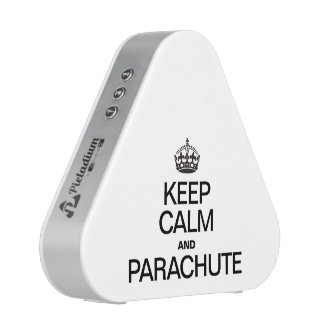 KEEP CALM AND PARACHUTE BLUETOOTH SPEAKER