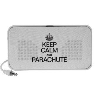 KEEP CALM AND PARACHUTE TRAVELLING SPEAKER
