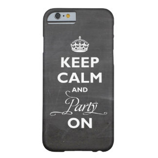 Keep Calm And Party On Crown Chalkboard Custom iPhone 5 Covers