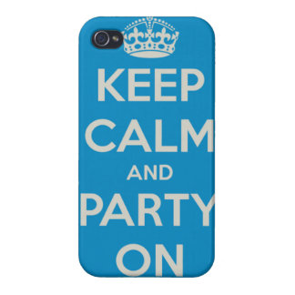 Keep Calm and Party On iPhone case iPhone 4/4S Case